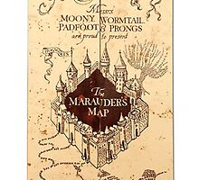 The Marauders Map by trinititaylor