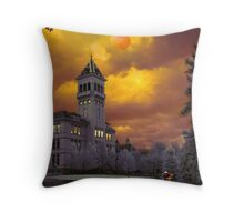 Old Main Throw Pillow