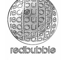 Metal Redbubble logo  by Ken Tregoning