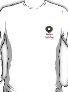 Happy Holidays T-Shirt ~ Simple Design T-Shirt