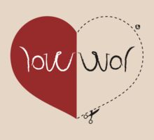 WAR / LOVE ambigram by animo