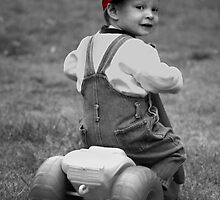 Boy in Red Cap by Adrianne Yzerman