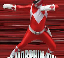 Mighty Morphin Red Ranger - It's Morphin Time! by Joe Bolingbroke