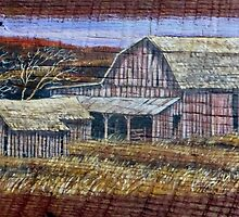 Valley Barn by JKHowsarePearl