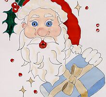 Merry Christmas Everybody!! by Marilyn Brown