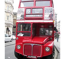 London Routemaster Bus by footypix