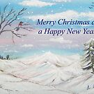 Winter Wonderland Card by © Linda Callaghan