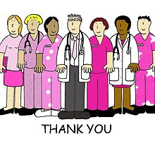 Thank you to breast cancer team, nurses and Doctors by KateTaylor