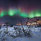 Northern Lights - creative editing by Frank Olsen
