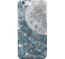 Full moon galaxy iPhone Case/Skin