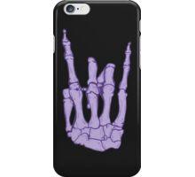 Skeleton hand | Lilac iPhone Case/Skin