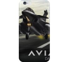 Dassault Rafale Fighter Jet iPhone Case/Skin
