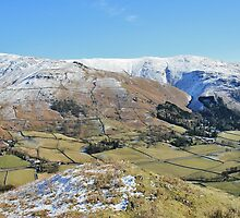 Easedale Valley - Lake District by Rod Unwin