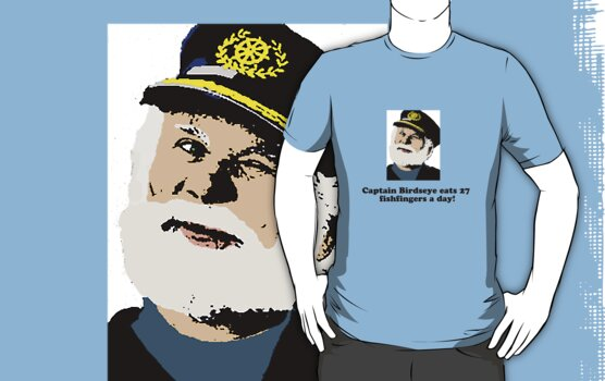 Captain Birdseye by Laura Perkins