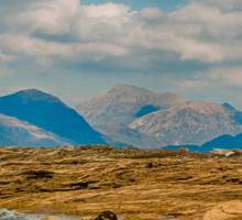 Skye, Scotland - Elgol beach Sticker
