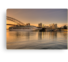 Morning Arrival - Moods Of A City - The HDR Experience Canvas Print