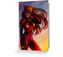 Asuka Langley Soryu  Greeting Card