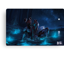 Gentle is the Night Canvas Print