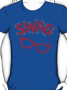 Swag Glasses typographic design T-Shirt
