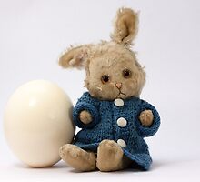 Easter Egg and Bunny by franceslewis
