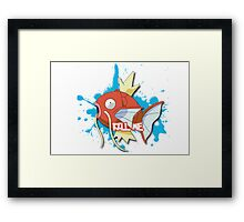 KILL ME - Magikarp Framed Print