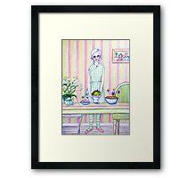 Granny Content Series 1 Framed Print