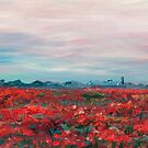 Provence Poppy Field by Nadine Rippelmeyer
