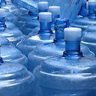 Blue Bottles by Kos Cos