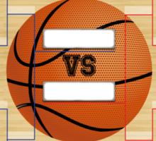 March Basketball Bracket Sticker