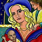 Modern Icons - Madonna & Children by Leah Lux