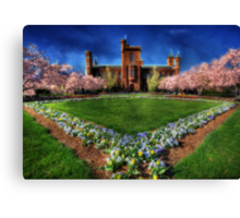 Smithsonian Castle Garden Canvas Print