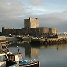 Carrikfergus Castle by pablotguerrero