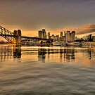 Reflections Of Morn (Uncut)- Moods Of A City - The HDR Series by Philip Johnson