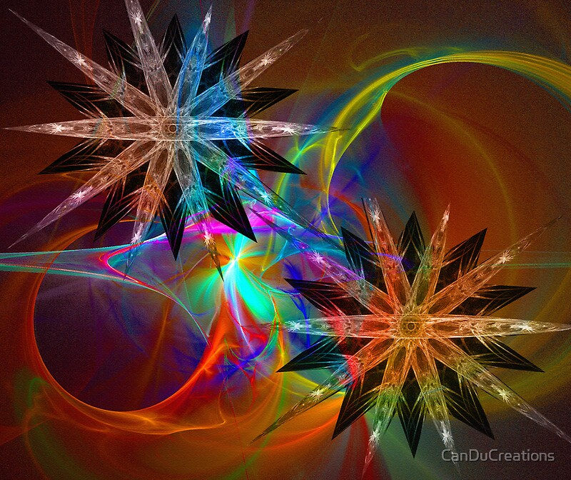 Quot fractal christmas design by canducreations redbubble