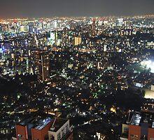 Tokyo by night by mirken21