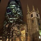 The Old & New of London by James Hughes