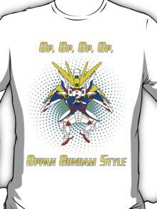 Oppa Gundam Style T-Shirt