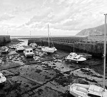 "UK: ""Low Tide at Lynmouth"", Devon by Kelly Sutherland"