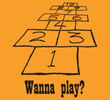 Wanna play? by Sharon Stevens