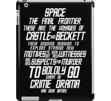 Castle The Final Frontier- v2a iPad Case/Skin