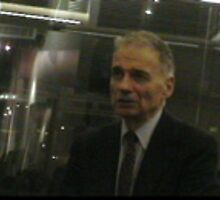 ralph nader at book signing by alinedinoia