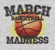 March Basketball Madness by SportsSwagg