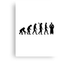 Evolution Judge Canvas Print