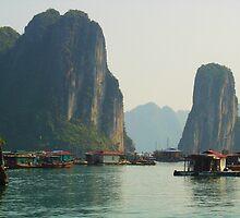 ***Ha Long Bay*** by Julie  Hamilton