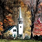 Country Church by Jim Phillips