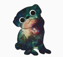 Space Pug (White) Kids Clothes