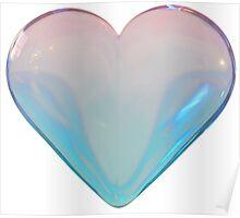 Bubble Heart Poster