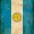 Argentinian Flag — World Flag Series by marcodeobaldia