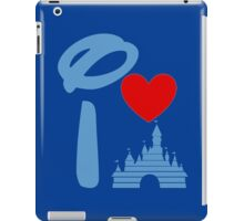 I Heart Sleeping Beauty (dark) iPad Case/Skin