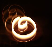 SPINNING FLAME by Opat